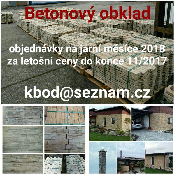 náhled Betonový obklad