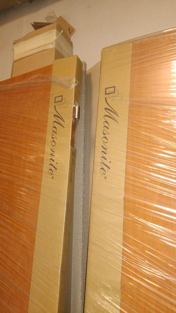 náhled interiérové dveře Masonite  dekor olše, plné