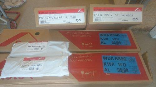 náhled Nové  - Střešní výlezy ROTO WDA R89GK WD (54x98)