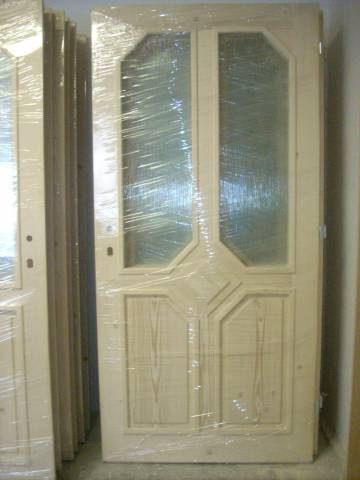 náhled Venkovní vchodové dveře z masivu