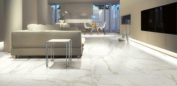 náhled 60% SLEVA DLAŽBA KERAMICKÁ SLINUTÁ 60x120 Carrara