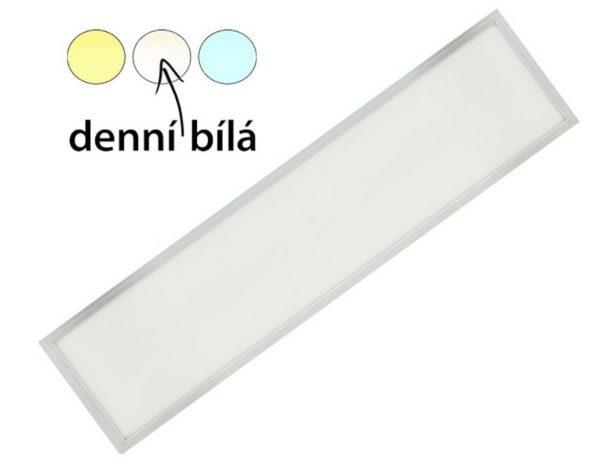 náhled Podhledový LED panel 120x30 cm denní bílá 45 w NOVÝ v záruce!!