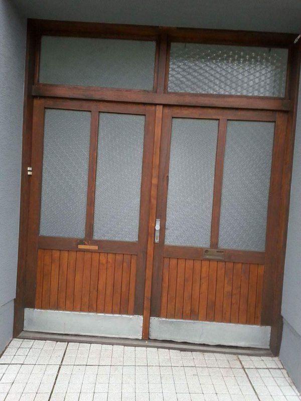 náhled Dřevěná Vrata