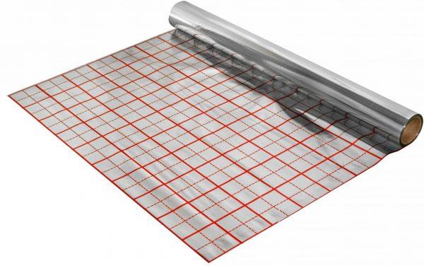 náhled Folie pro podlahové vytápění, s rastrem, délka 50m