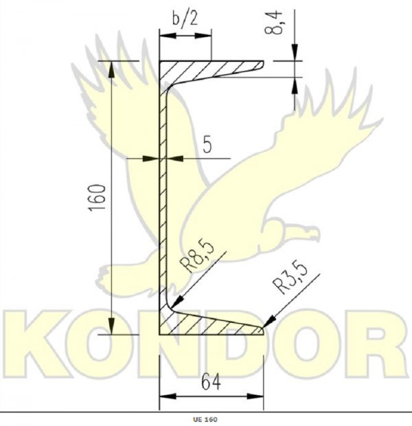 náhled 4 nove nosníky UE 160 - 2x385cm + 2x200cm