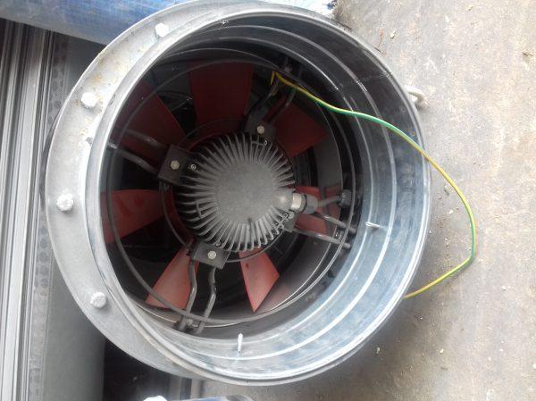 náhled ventilátor do nevýbuchu