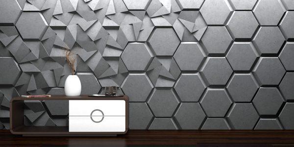 náhled 3D interiérový obklad
