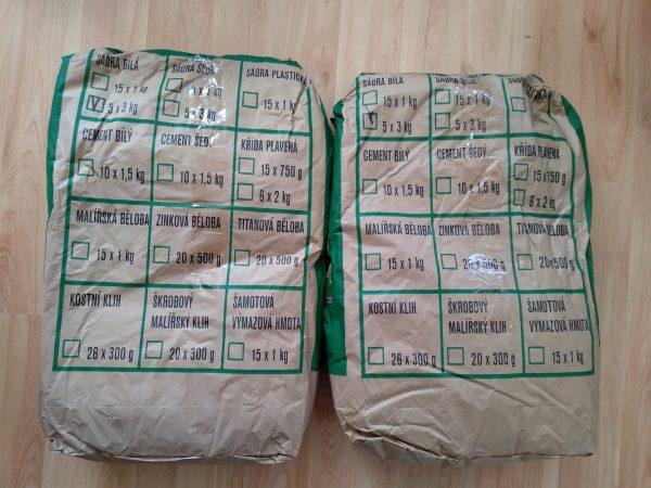 náhled 30 kg bílé sádry