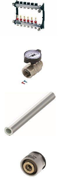 náhled trubka pro podlahové topení TECE PEX 17x2