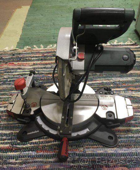 náhled Pokosová pila Metabo KS 216 M Lasercut - 500,-