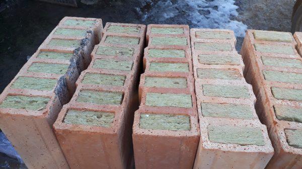 náhled  Prodám: pálené cihly plněné minerální vatou Poroton T Profi