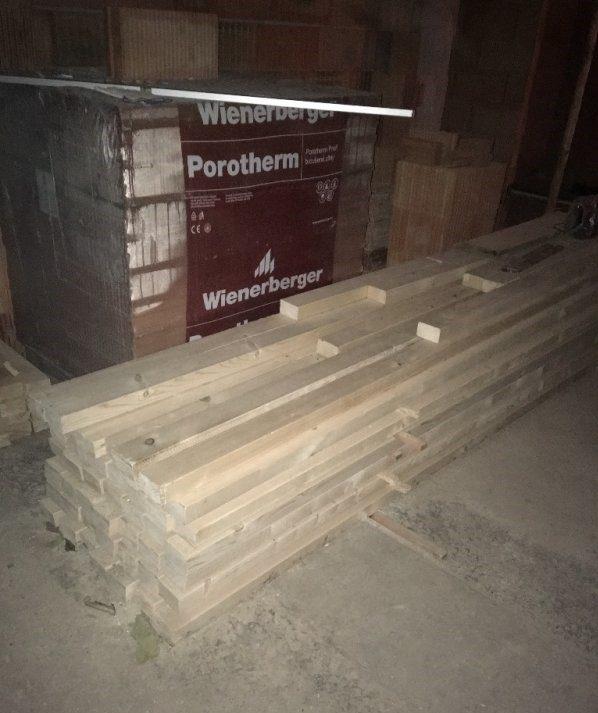 náhled Dřevěné KVH hranoly 100x60 mm délky 3,25m