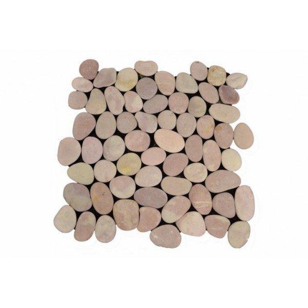 náhled Obklad mozaika z říčních kamínků- 5 m2