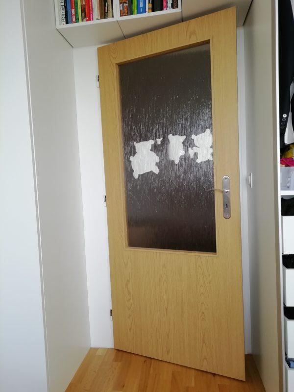 náhled Zánovní interiérové dveře Sepos folie dub - 5 ks