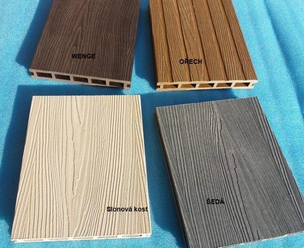 náhled WPC dřevoplastová prkna na terasy