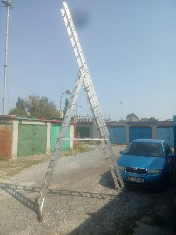 náhled Prodám stavebni žebřik