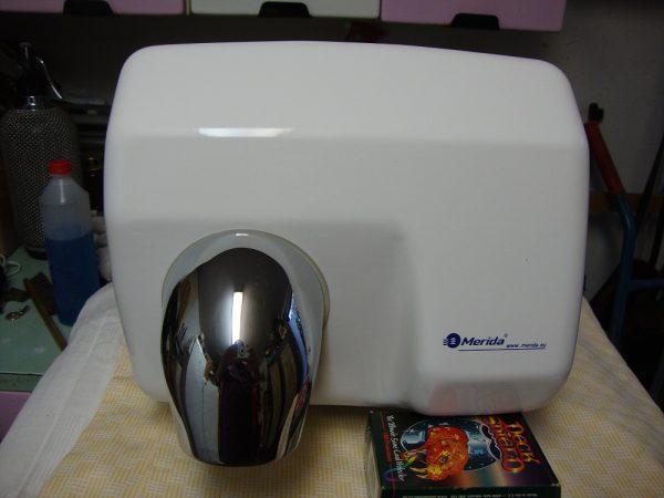 náhled Elektrický vysoušeč rukou Merida Plus bílý pěkný funkční top