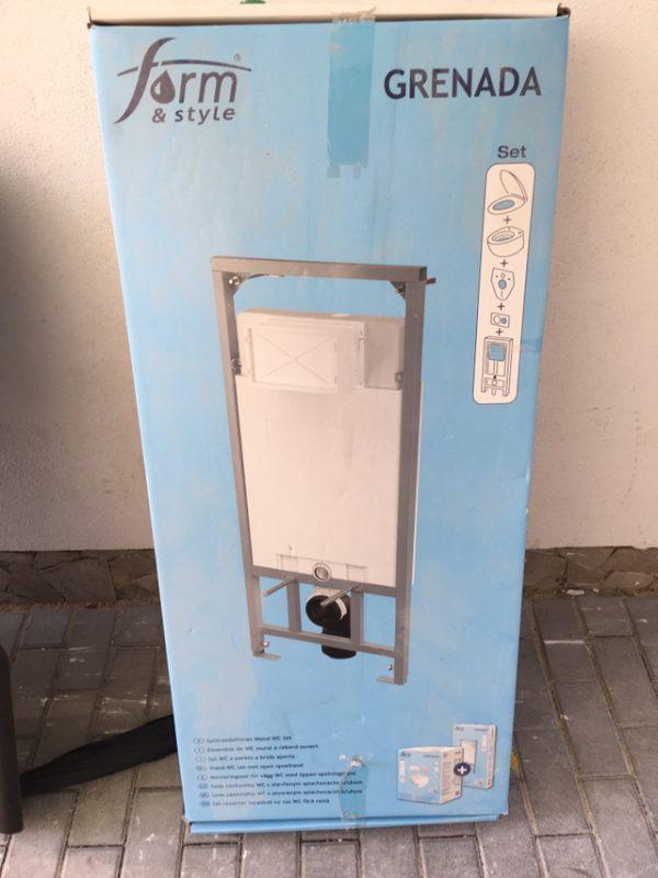 náhled Vestavný WC modul - splachovací zařízení