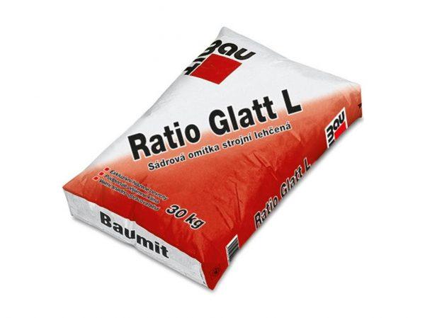 náhled 50% CENY - STROJNÍ SÁDROVÁ OMÍTKA Baumit Ratio Glatt L