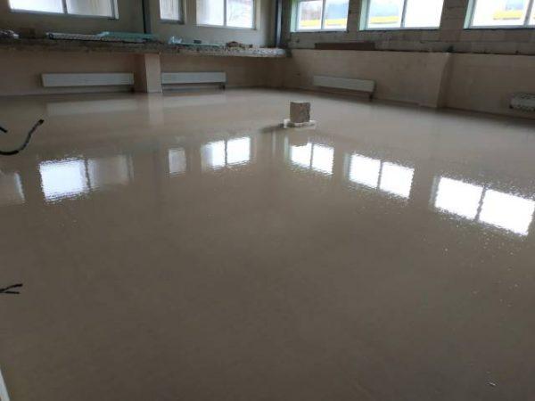 náhled Anhydritové a cementové lité podlahy