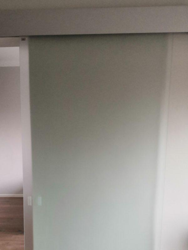 náhled  skleněné zašupovací dveře