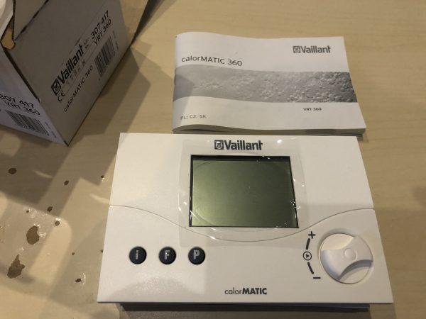 náhled termostat Vaillant calorMATIC 360- 80%sleva