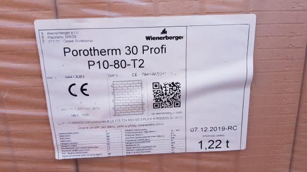 náhled 6 palet Porobeton 30